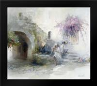 Teen-agers: Framed Art Print by Haenraets, Willem
