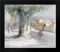Whispering wind: Framed Art Print by Haenraets, Willem
