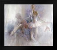 Ballet-girls: Framed Art Print by Haenraets, Willem