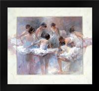 Ballarinas: Framed Art Print by Haenraets, Willem