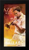 Jazz 1: Framed Art Print by Haenraets, Willem