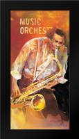 Jazz 2: Framed Art Print by Haenraets, Willem