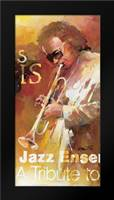 Jazz 3: Framed Art Print by Haenraets, Willem