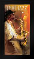 Jazz 4: Framed Art Print by Haenraets, Willem