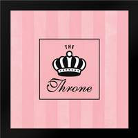 The Throne: Framed Art Print by Marrott, Stephanie