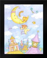 Moon Swing: Framed Art Print by Eisner, Viv
