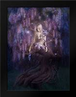 Wisteria: Framed Art Print by Babette