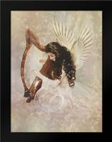 Angel Zamru: Framed Art Print by Babette