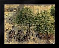 Place Due Theatre Francais, 1898: Framed Art Print by Pissarro, Camille
