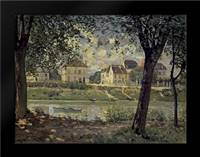 Louveciennes: Framed Art Print by Sisley, Alfred