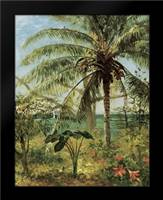 Palm Tree, Nassau 1892: Framed Art Print by Bierstadt, Albert