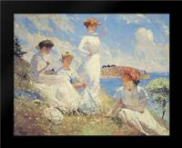 Summer: Framed Art Print by Benson, Frank Weston