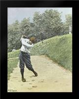 Bunkered: Framed Art Print by Frost, Arthur Burdett