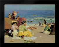 A Family Outing: Framed Art Print by Potthast, Edward Henry