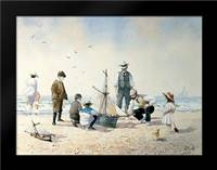 The New Boat: Framed Art Print by Smith, Albert