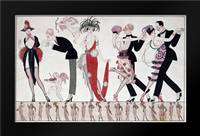 The Tango: Framed Art Print by Barbier, Georges