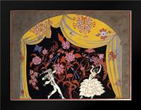 The Flamenco: Framed Art Print by Barbier, Georges