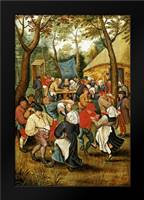 The Wedding Feast: Framed Art Print by Bruegel, Pieter the Elder