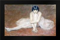 The Ballet Dancer: Framed Art Print by Carrier-Belleuse, Pierre