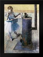 Dancer Resting: Framed Art Print by Degas, Edgar