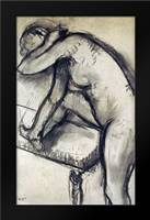 Study of a Dancer: Framed Art Print by Degas, Edgar