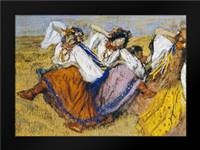 Russian Dancers: Framed Art Print by Degas, Edgar
