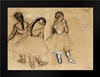 Three Dancers: Framed Art Print by Degas, Edgar