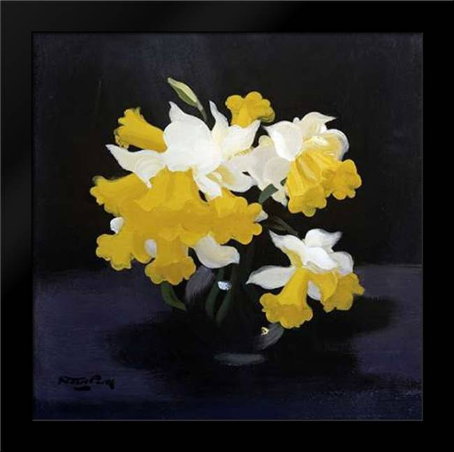 Daffodils: Framed Art Print by Park, James Stuart
