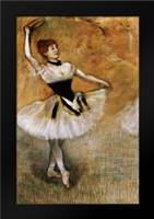 Dancer With a Tambourine: Framed Art Print by Degas, Edgar