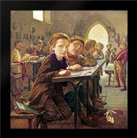 In The Classroom: Framed Art Print by Harris, J.