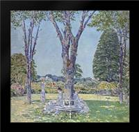 The Audition, East Hampton: Framed Art Print by Hassam, Childe