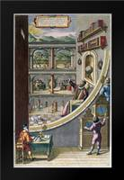 Tycho Brahe and Others With Astronomical Instruments: Framed Art Print by Blaeu, Joan