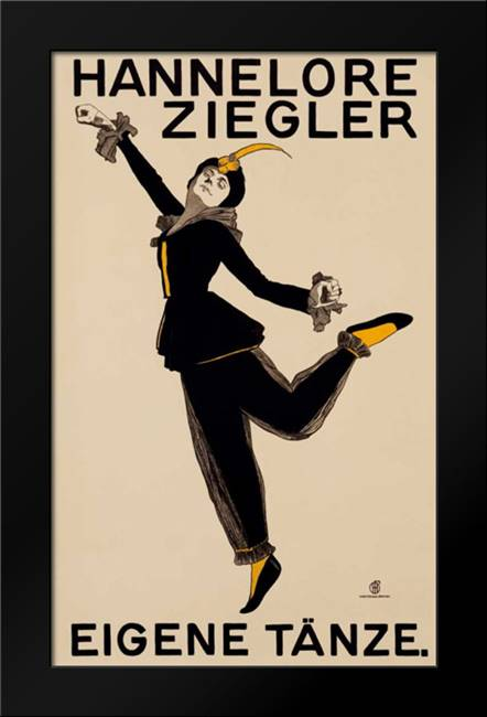 Hannelore Ziegler: Framed Art Print by Unknown
