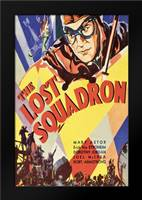 Vintage Film Posters: Lost Squadron: Framed Art Print by Unknown