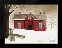 New Fallen Snow: Framed Art Print by Jacobs, Billy