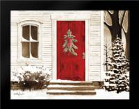 Red Door: Framed Art Print by Jacobs, Billy