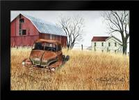 Granddads Ole Truck: Framed Art Print by Jacobs, Billy
