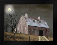 Midnight Moon: Framed Art Print by Jacobs, Billy