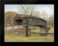 The Old Humpback Bridge: Framed Art Print by Jacobs, Billy