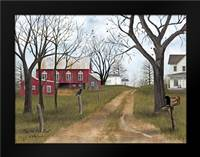 The Old Dirt Road: Framed Art Print by Jacobs, Billy