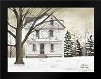 Winter Porch: Framed Art Print by Jacobs, Billy