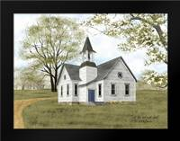 Let Go and Let God: Framed Art Print by Jacobs, Billy