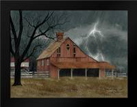 Dark and Stormy Night: Framed Art Print by Jacobs, Billy