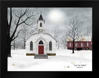 Love One Another: Framed Art Print by Jacobs, Billy