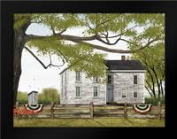 Sweet Summertime House: Framed Art Print by Jacobs, Billy