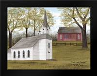 Faith and Freedom: Framed Art Print by Jacobs, Billy