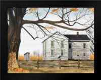 Harvest Time House: Framed Art Print by Jacobs, Billy