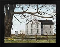 Spring Morning House: Framed Art Print by Jacobs, Billy