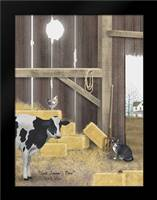 Uncle Sammys Barn: Framed Art Print by Jacobs, Billy