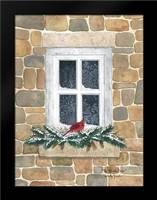 Winter Visitor: Framed Art Print by Jacobs, Billy